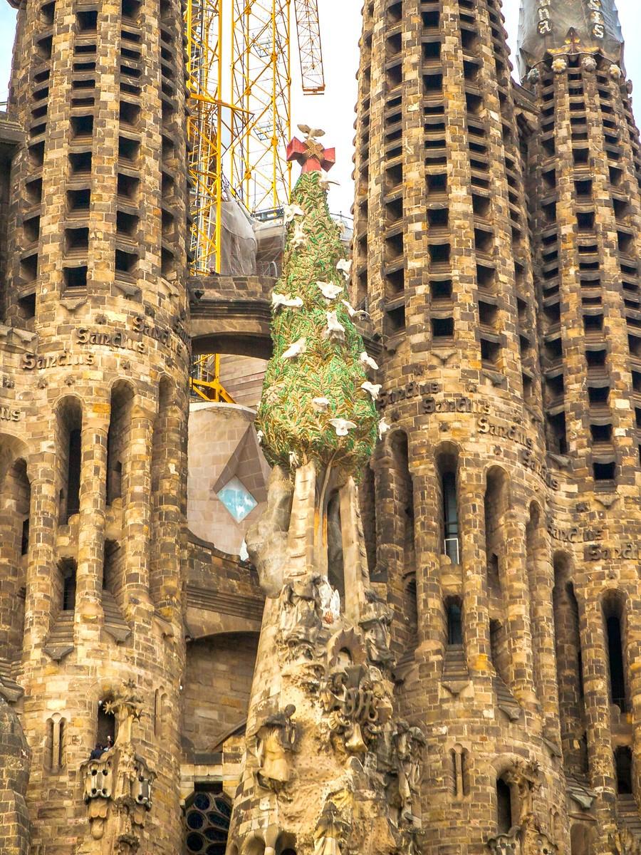 西班牙圣家堂(Sagrada Família), 传统里的超现实_图1-14