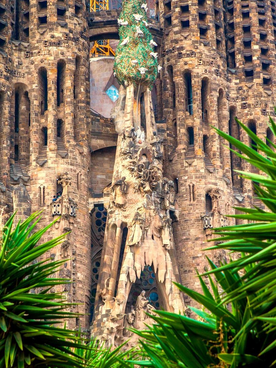 西班牙圣家堂(Sagrada Família), 传统里的超现实_图1-2