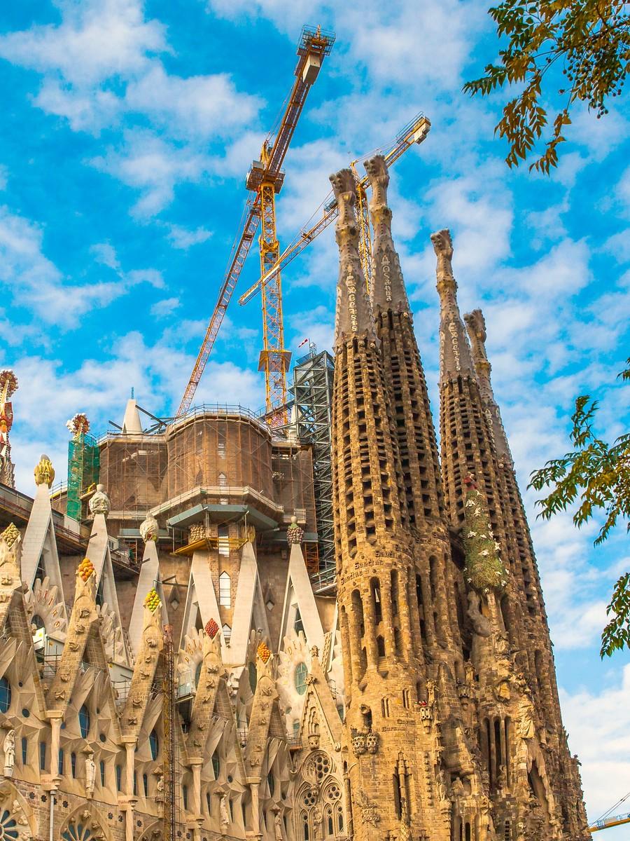 西班牙圣家堂(Sagrada Família), 传统里的超现实_图1-4