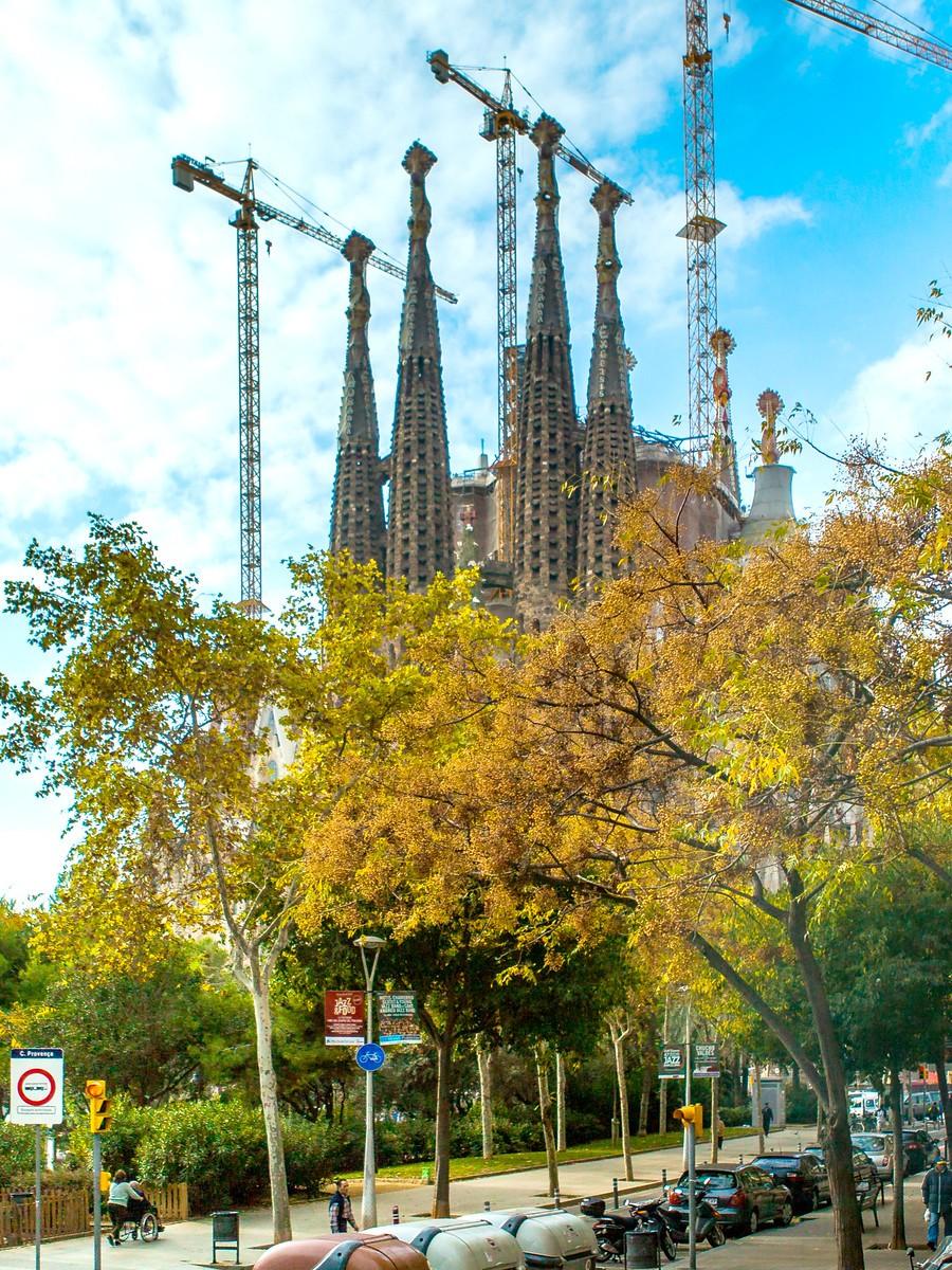 西班牙圣家堂(Sagrada Família), 传统里的超现实_图1-5