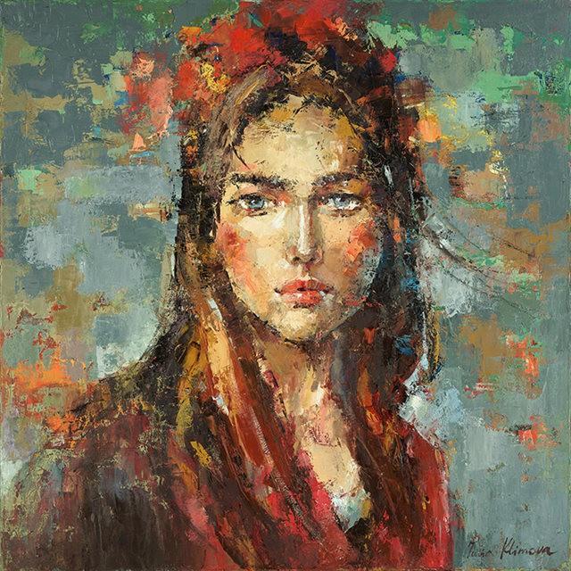 女画家:Julia Klimova_图1-1