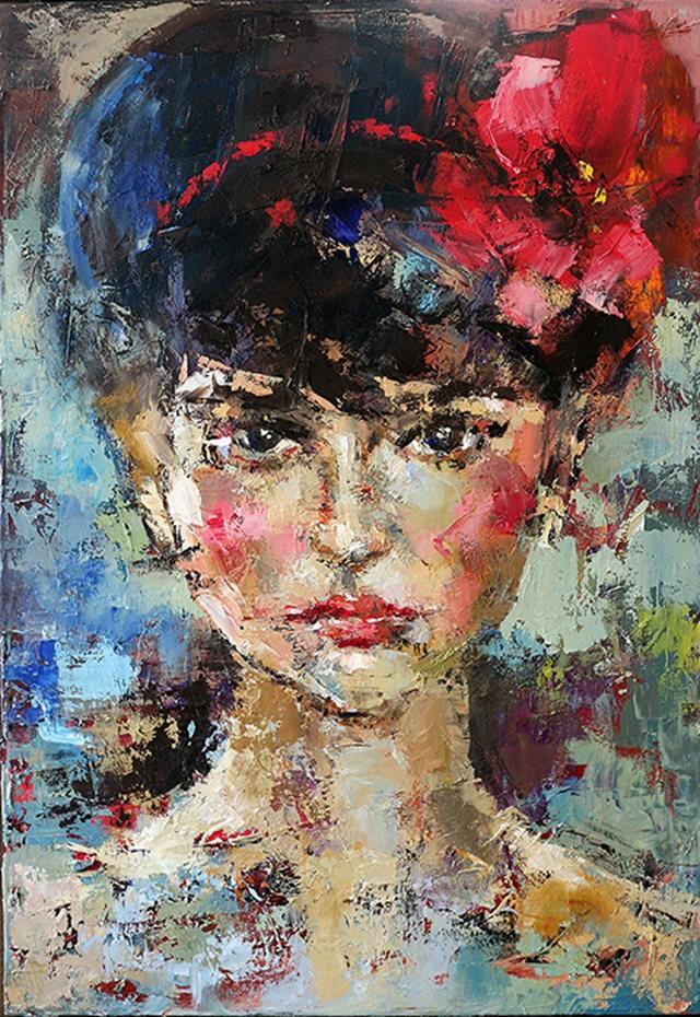 女画家:Julia Klimova_图1-2