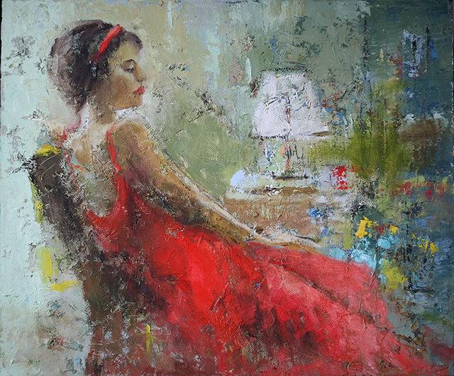 女画家:Julia Klimova_图1-4