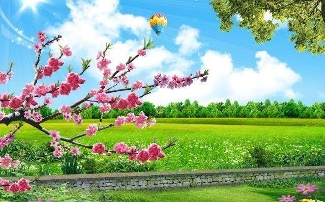 【原创】十六字令春三首_图1-2