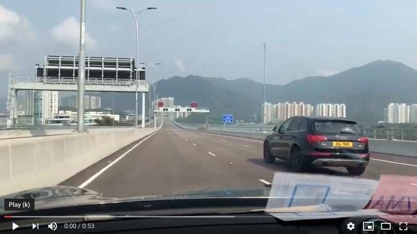 """超爽:在""""港珠澳大桥""""上飙车的感觉_图1-11"""