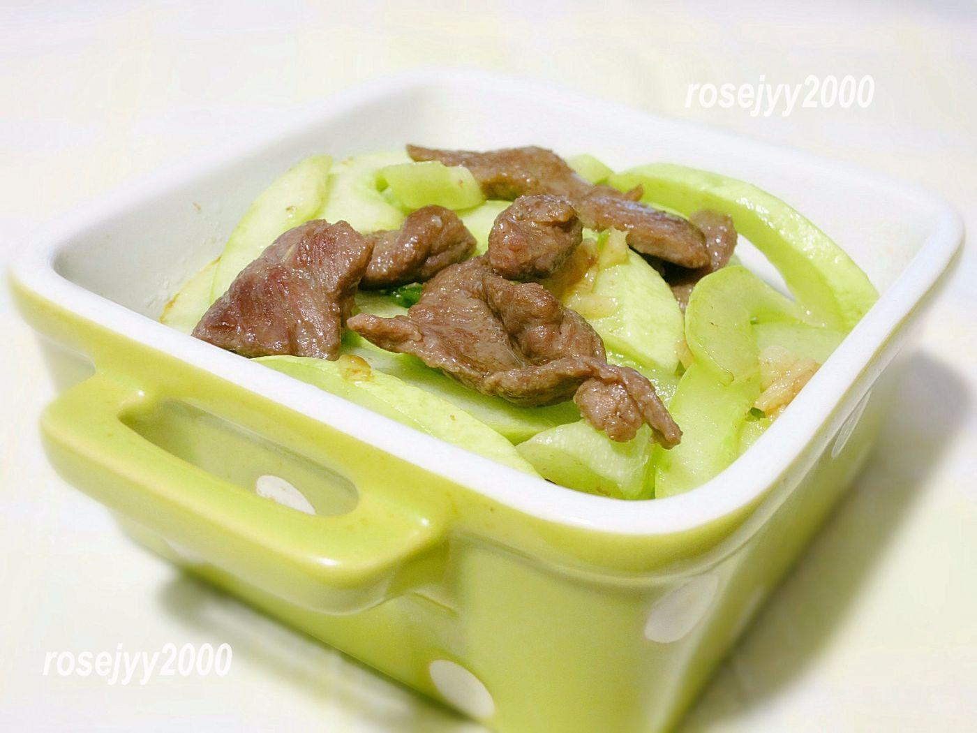 牛肉炒白瓜_图1-1