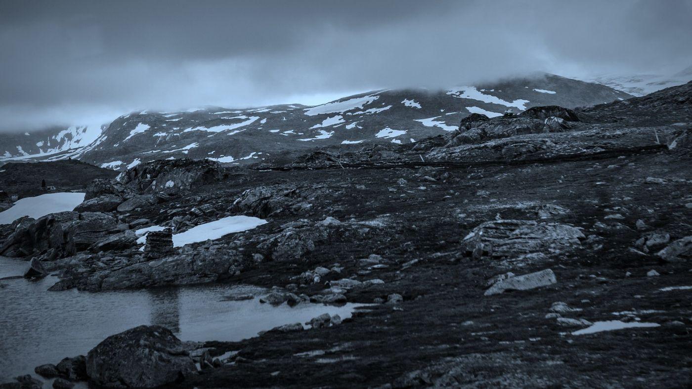 挪威屋脊(Sognefjellet),山上山下两重天_图1-6