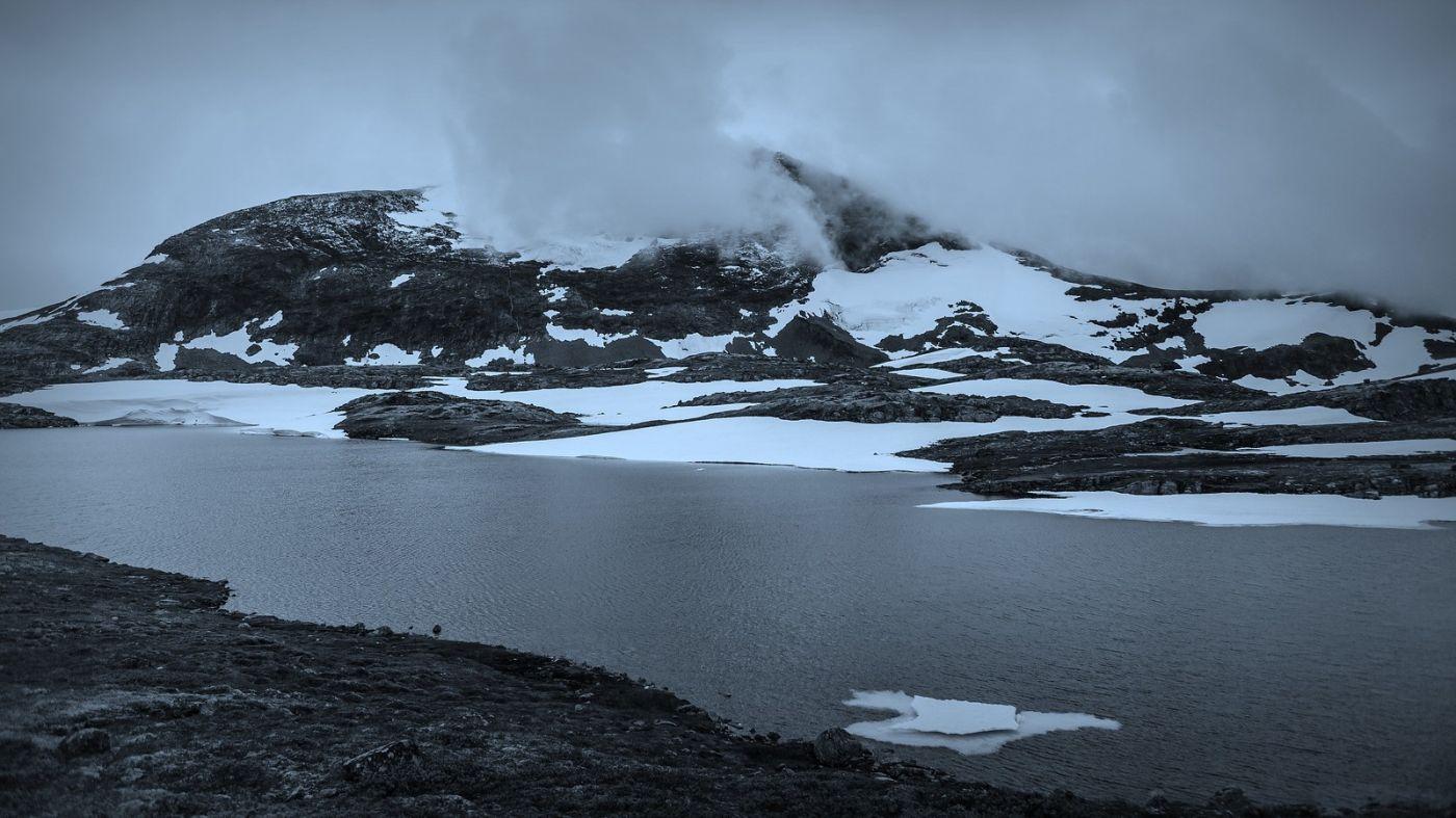 挪威屋脊(Sognefjellet),山上山下两重天_图1-2