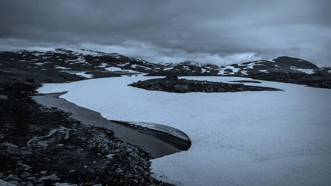 挪威屋脊(Sognefjellet),山上山下两重天_图1-3