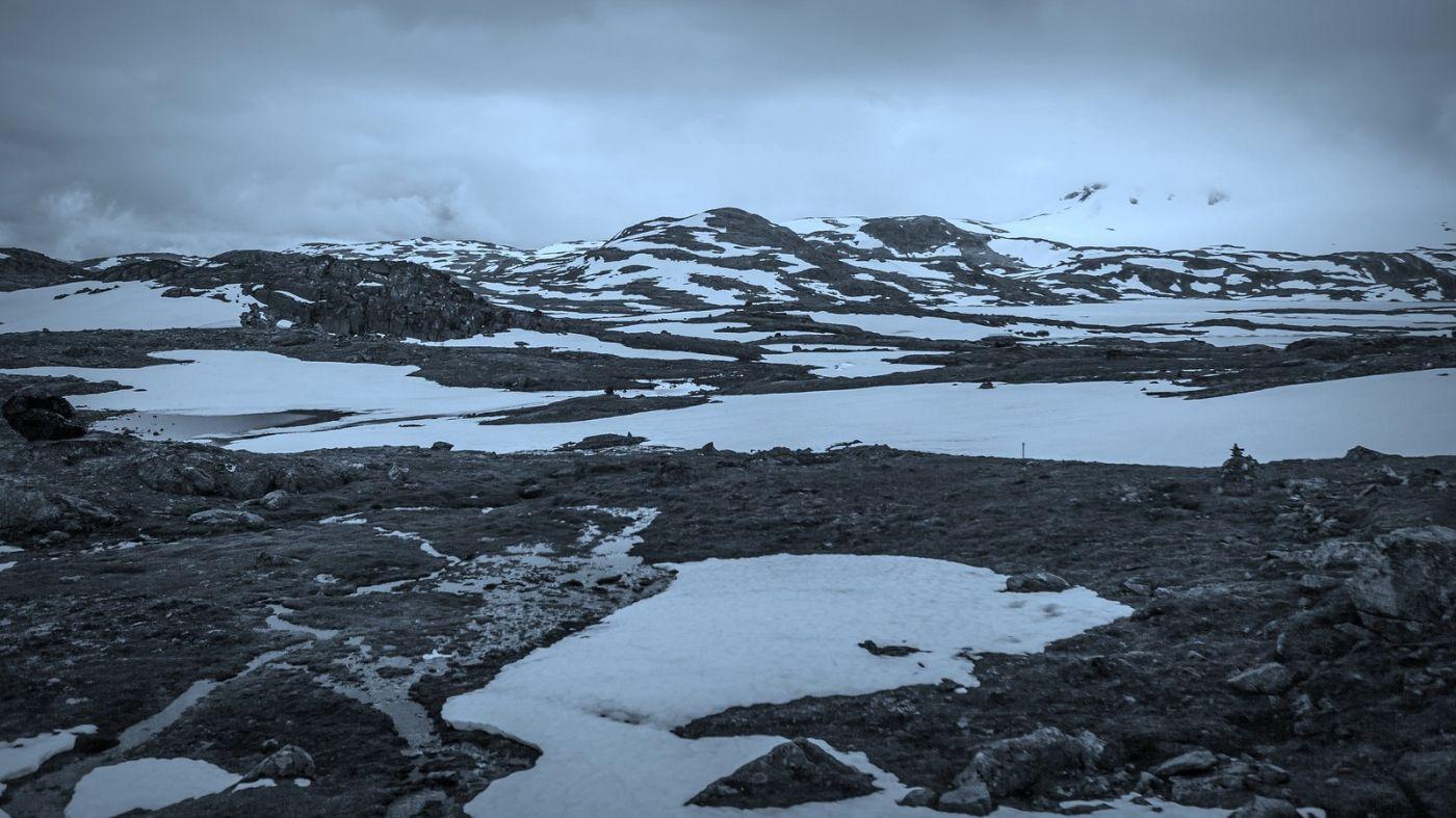 挪威屋脊(Sognefjellet),山上山下两重天_图1-4