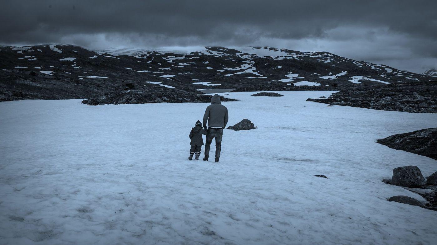 挪威屋脊(Sognefjellet),山上山下两重天_图1-40