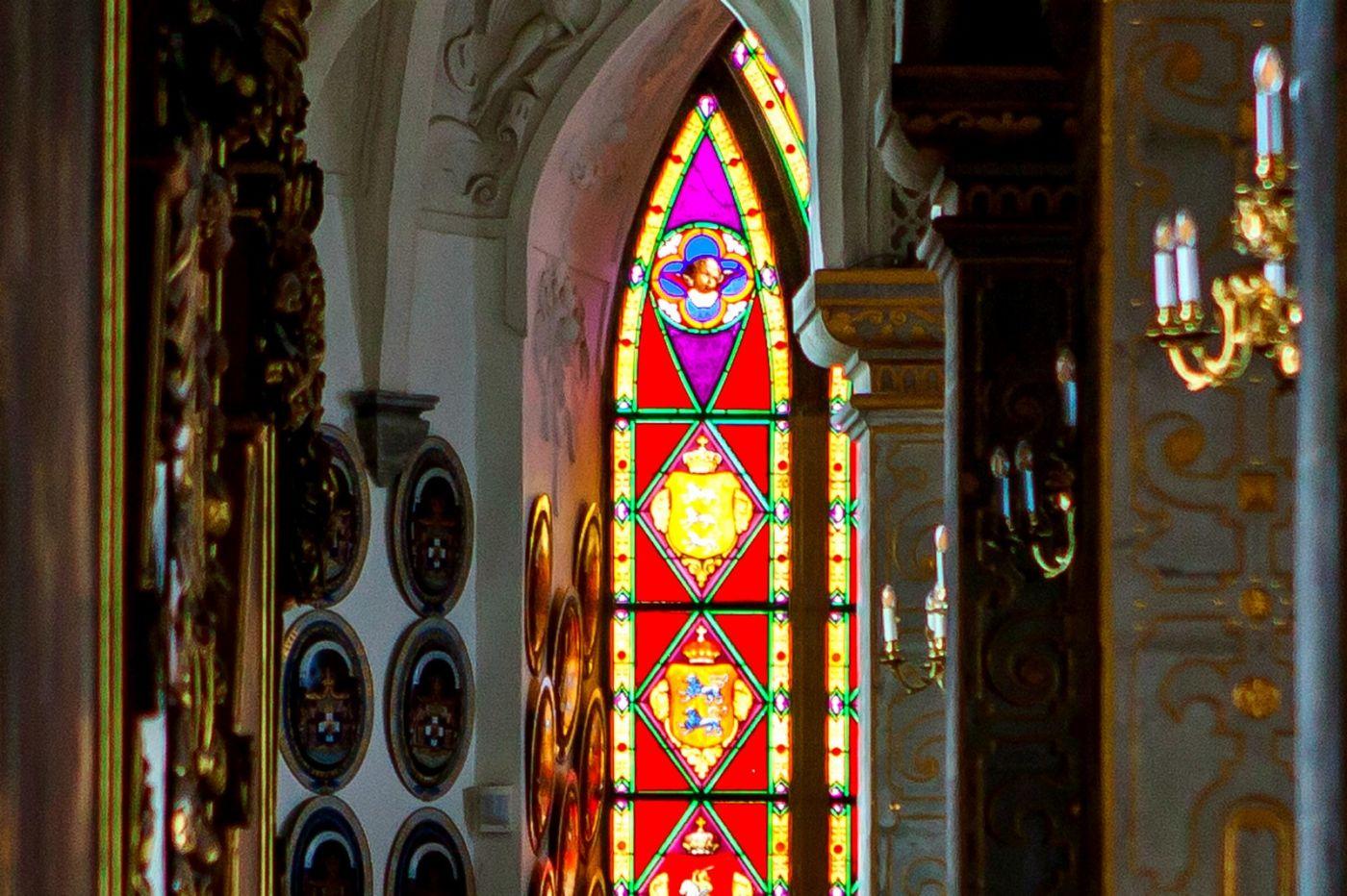 丹麦腓特烈堡城堡,金碧辉煌的大厅_图1-37