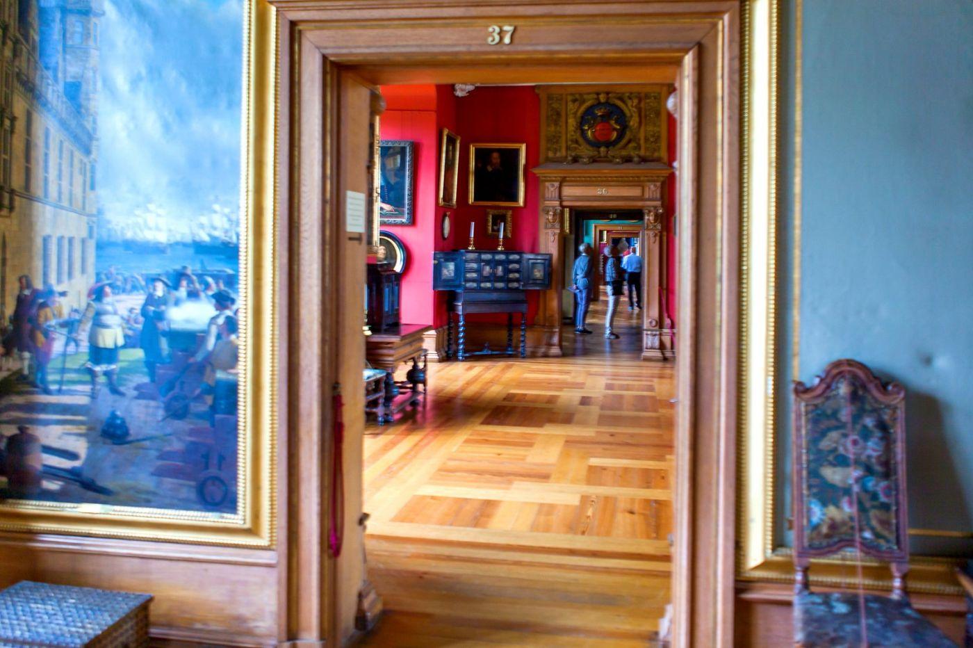 丹麦腓特烈堡城堡,金碧辉煌的大厅_图1-33