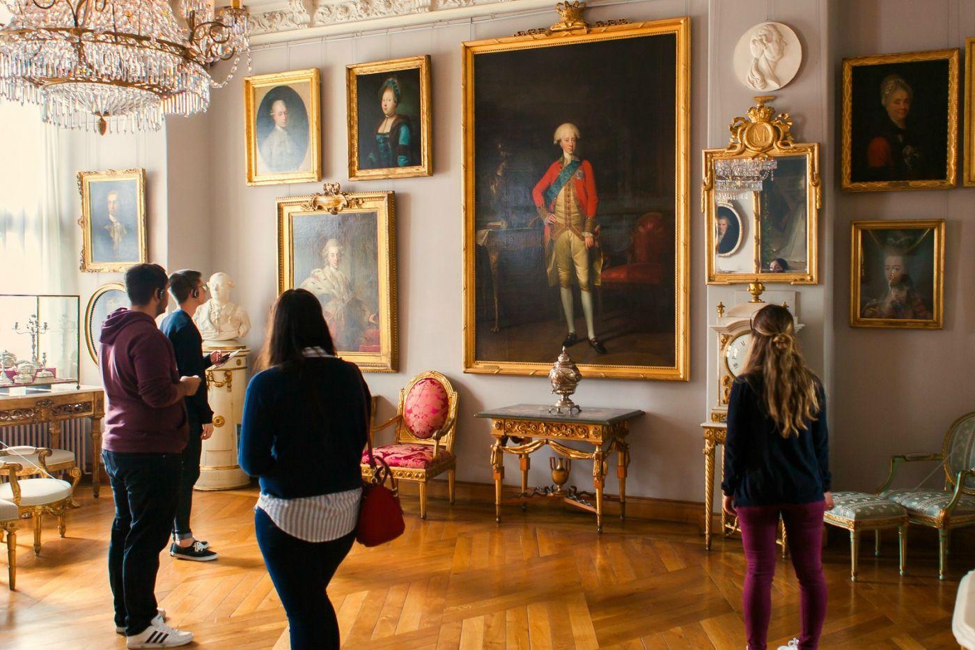 丹麦腓特烈堡城堡,金碧辉煌的大厅_图1-34