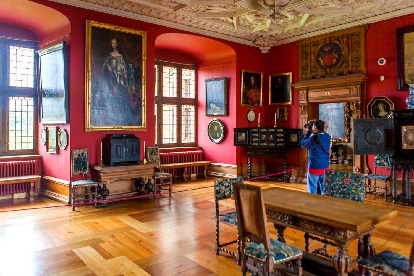 丹麦腓特烈堡城堡,金碧辉煌的大厅_图1-35
