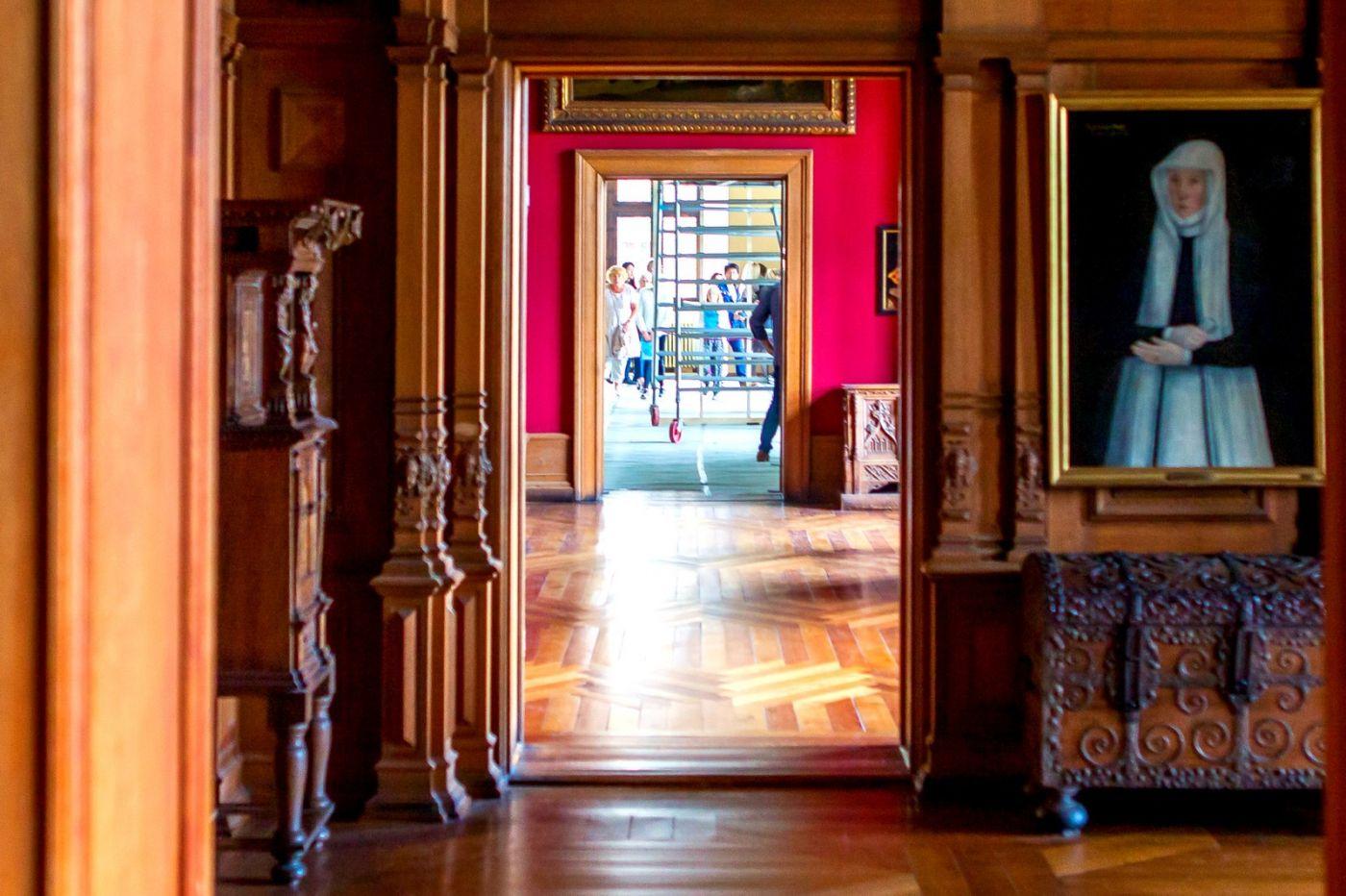 丹麦腓特烈堡城堡,金碧辉煌的大厅_图1-36