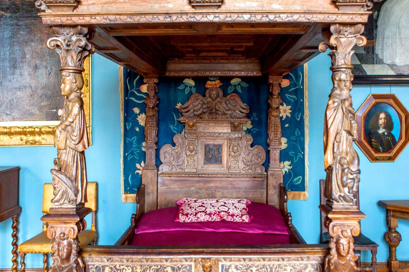 丹麦腓特烈堡城堡,金碧辉煌的大厅_图1-32