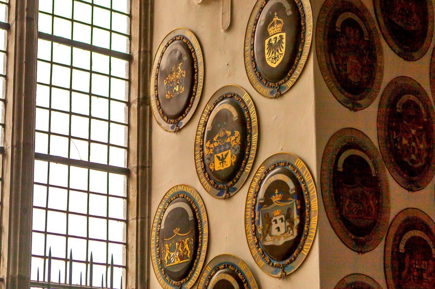 丹麦腓特烈堡城堡,金碧辉煌的大厅_图1-31