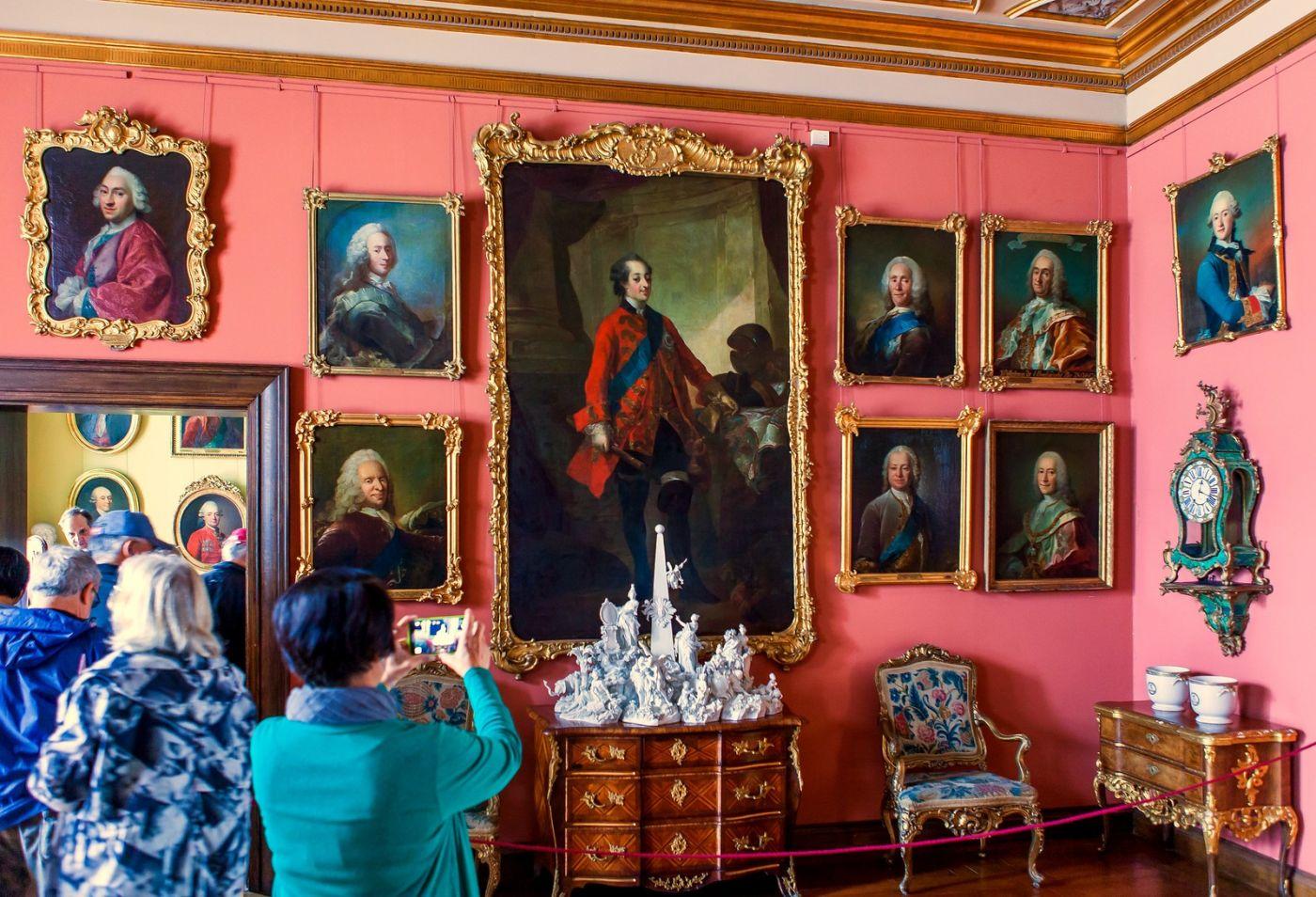 丹麦腓特烈堡城堡,金碧辉煌的大厅_图1-30