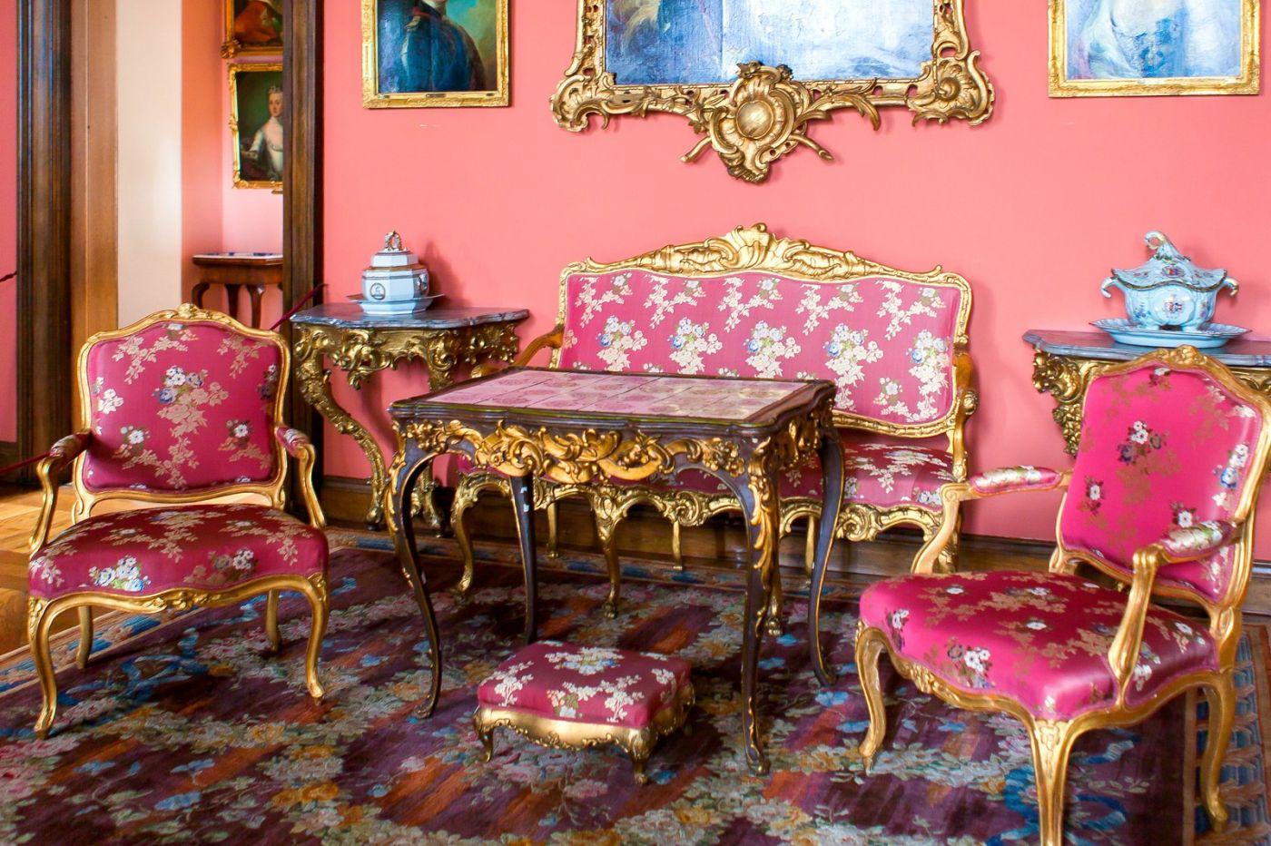 丹麦腓特烈堡城堡,金碧辉煌的大厅_图1-25