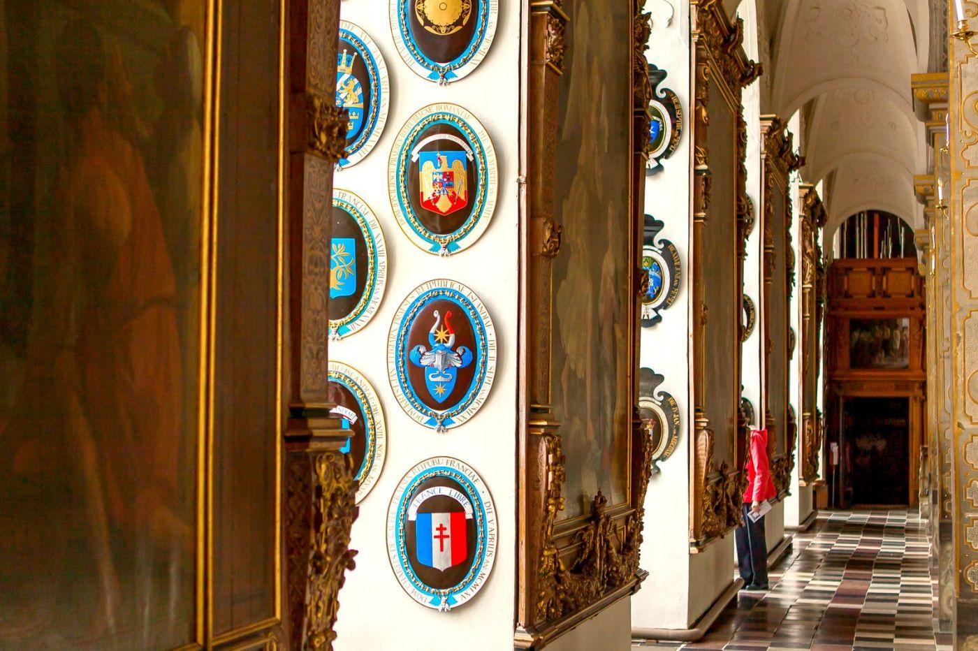 丹麦腓特烈堡城堡,金碧辉煌的大厅_图1-26