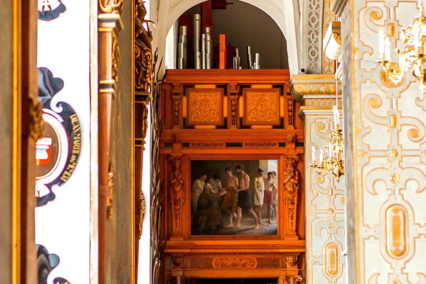 丹麦腓特烈堡城堡,金碧辉煌的大厅_图1-28