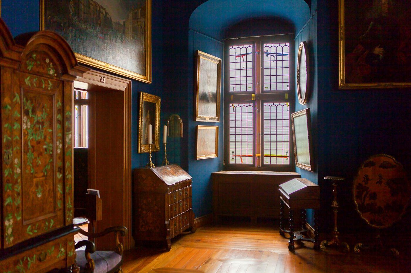 丹麦腓特烈堡城堡,金碧辉煌的大厅_图1-24