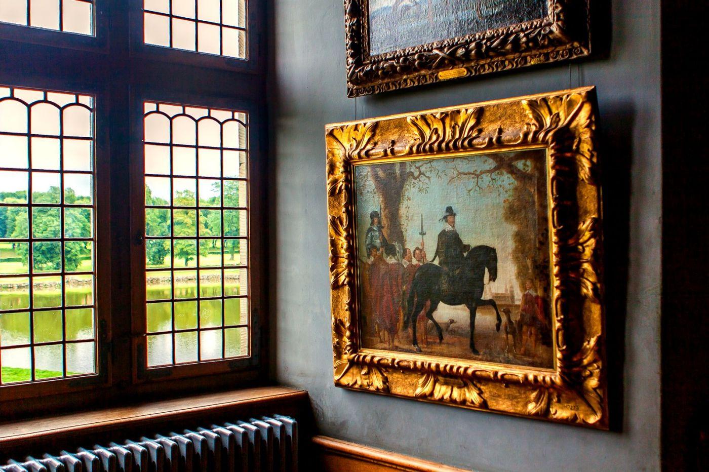 丹麦腓特烈堡城堡,金碧辉煌的大厅_图1-23