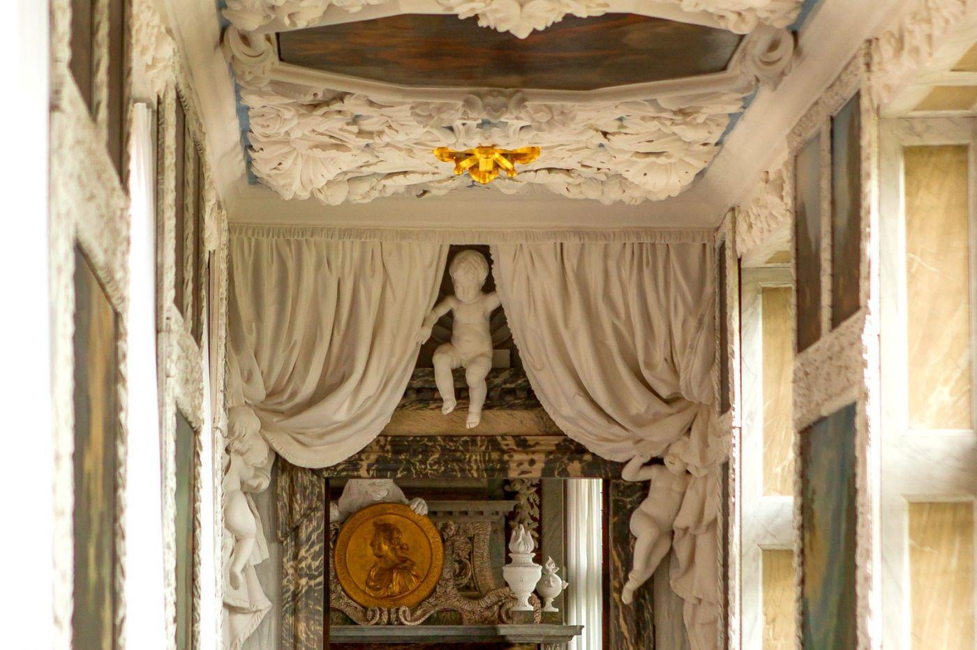 丹麦腓特烈堡城堡,金碧辉煌的大厅_图1-16