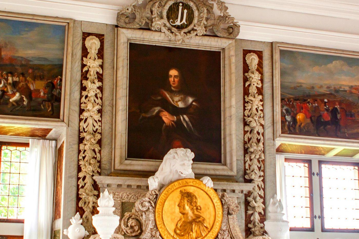 丹麦腓特烈堡城堡,金碧辉煌的大厅_图1-15