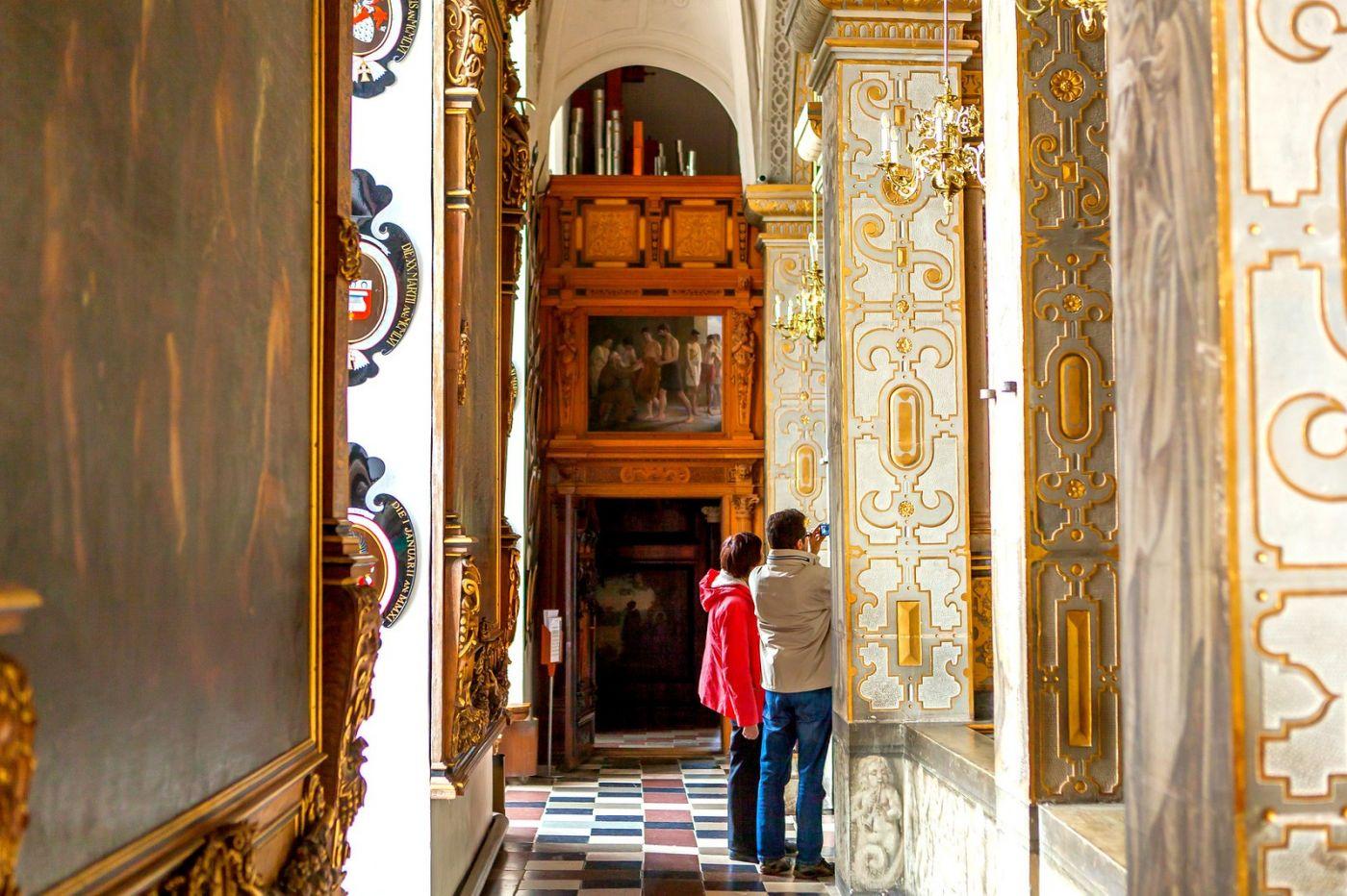 丹麦腓特烈堡城堡,金碧辉煌的大厅_图1-10