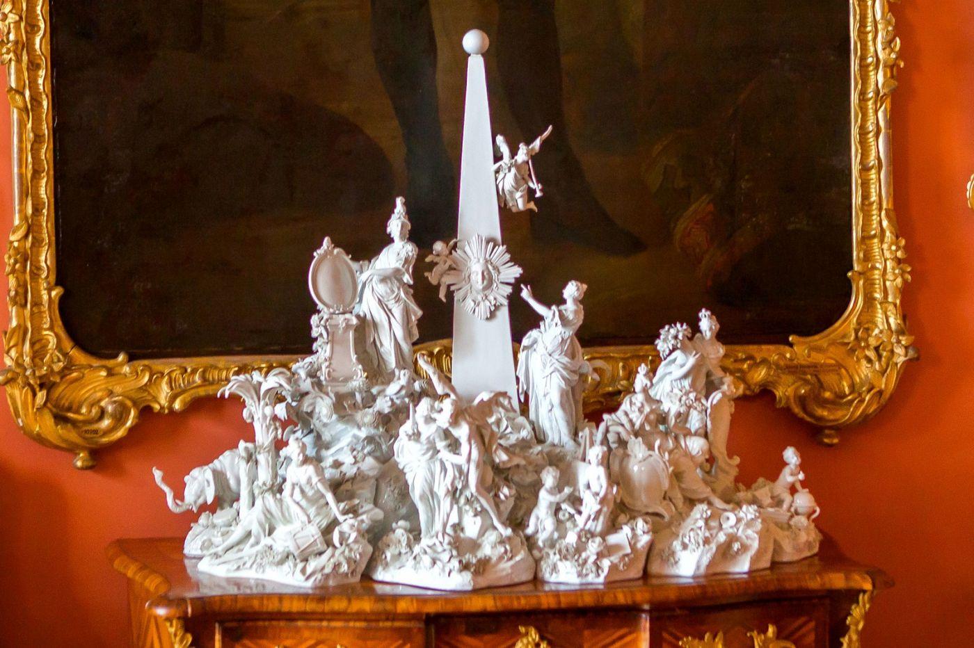 丹麦腓特烈堡城堡,金碧辉煌的大厅_图1-2