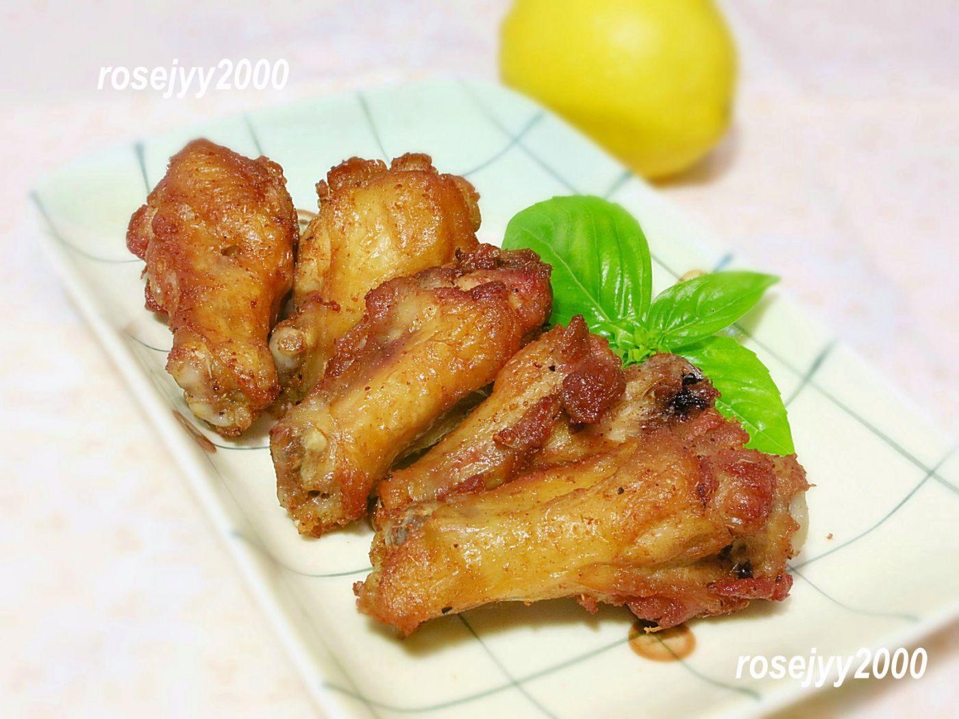 香茅柠盐鸡翅根_图1-1