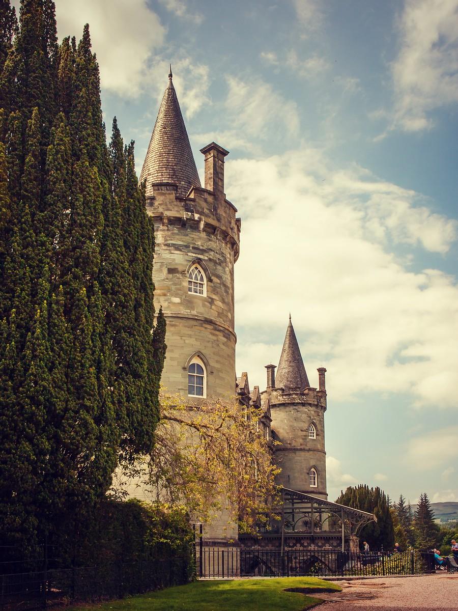 苏格兰Inveraray城堡,令人难忘_图1-19