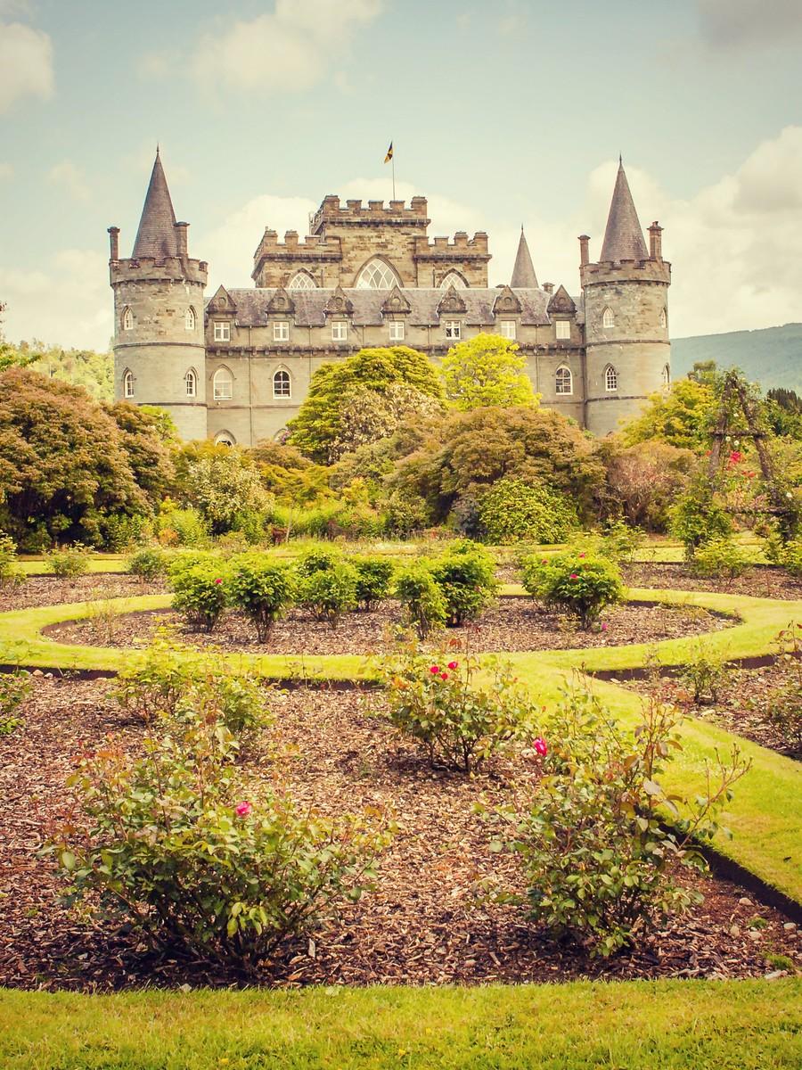 苏格兰Inveraray城堡,令人难忘_图1-14