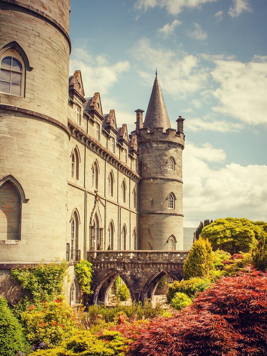 苏格兰Inveraray城堡,令人难忘_图1-13