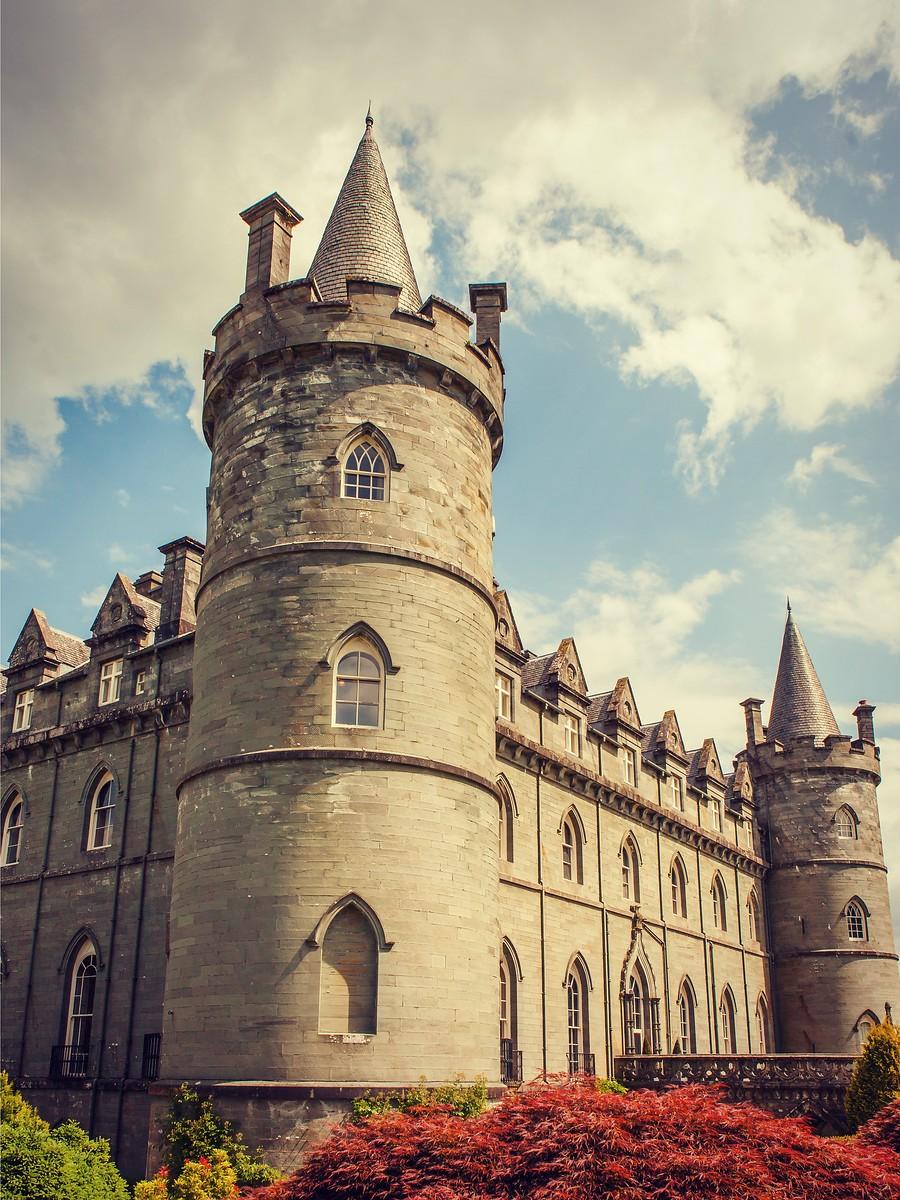 苏格兰Inveraray城堡,令人难忘_图1-15