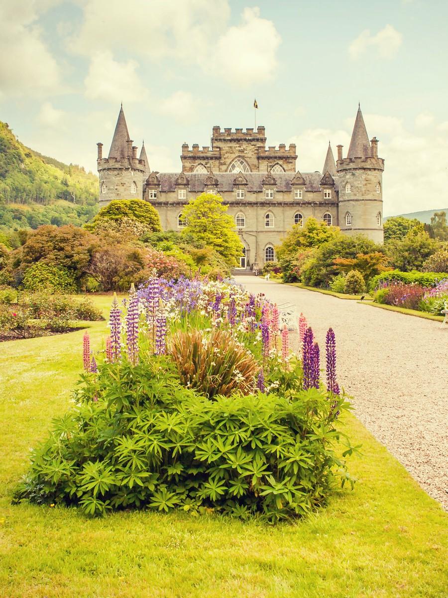 苏格兰Inveraray城堡,令人难忘_图1-16