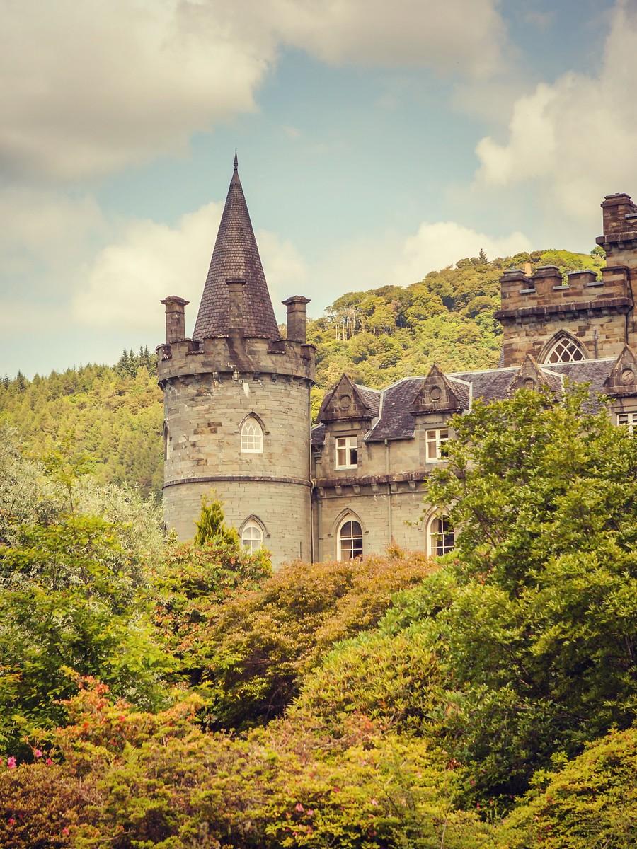 苏格兰Inveraray城堡,令人难忘_图1-9