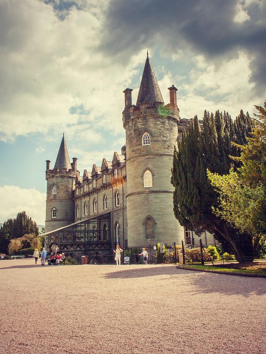 苏格兰Inveraray城堡,令人难忘_图1-6