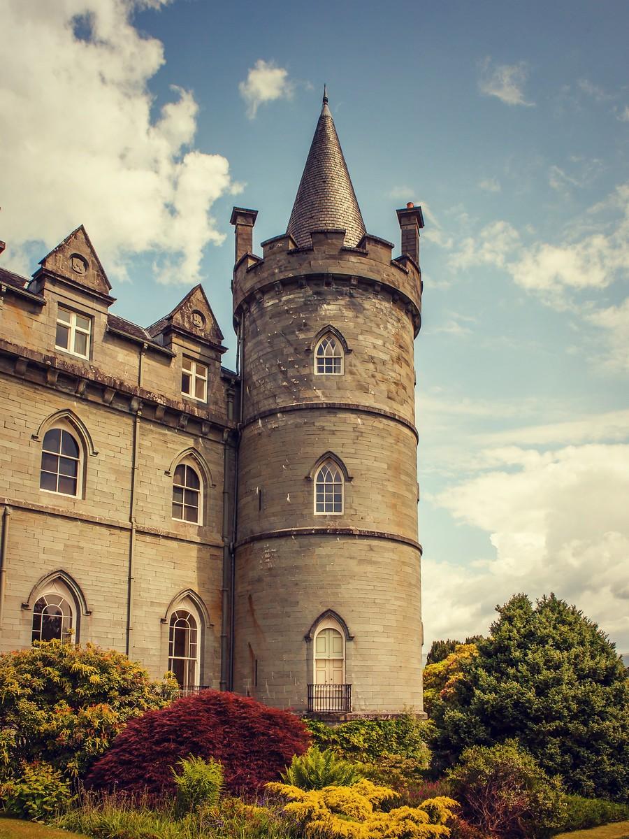苏格兰Inveraray城堡,令人难忘_图1-7
