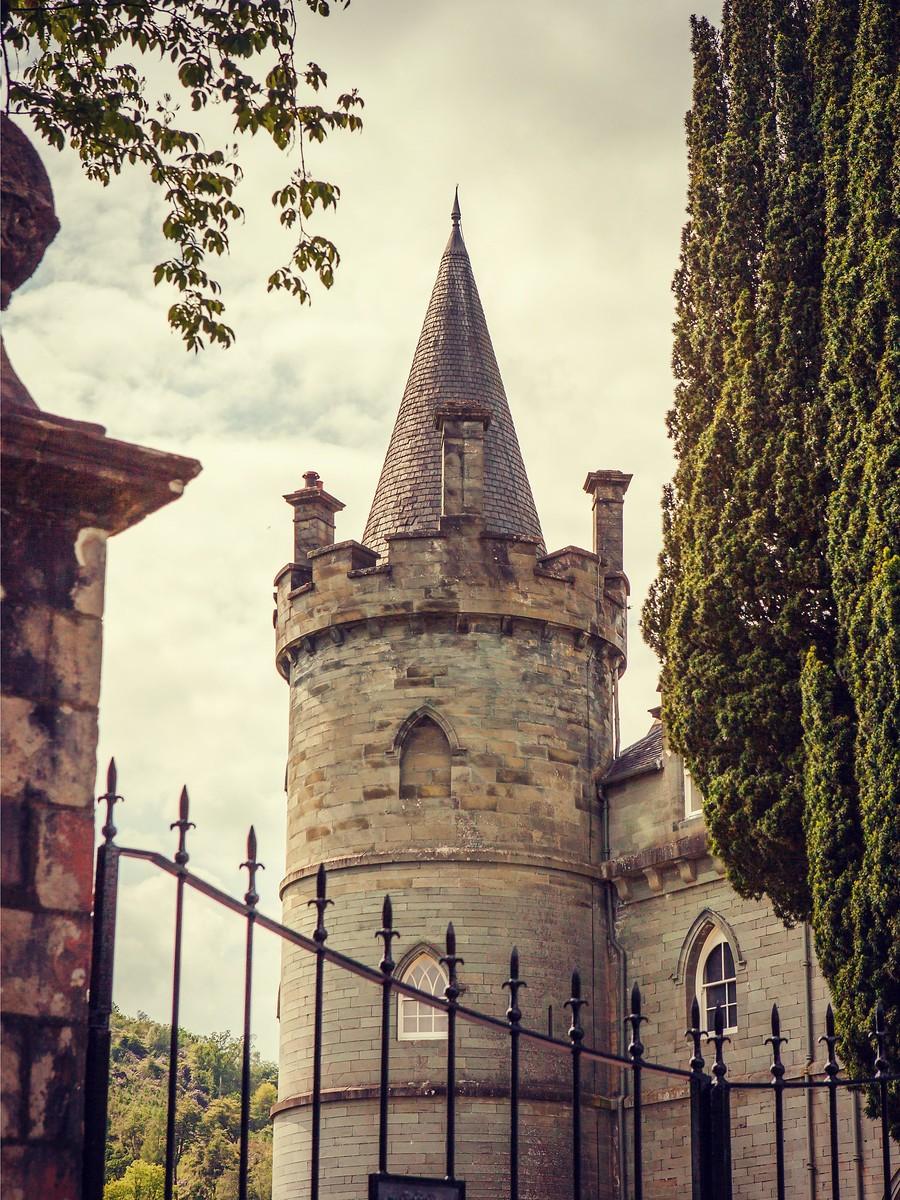 苏格兰Inveraray城堡,令人难忘_图1-4