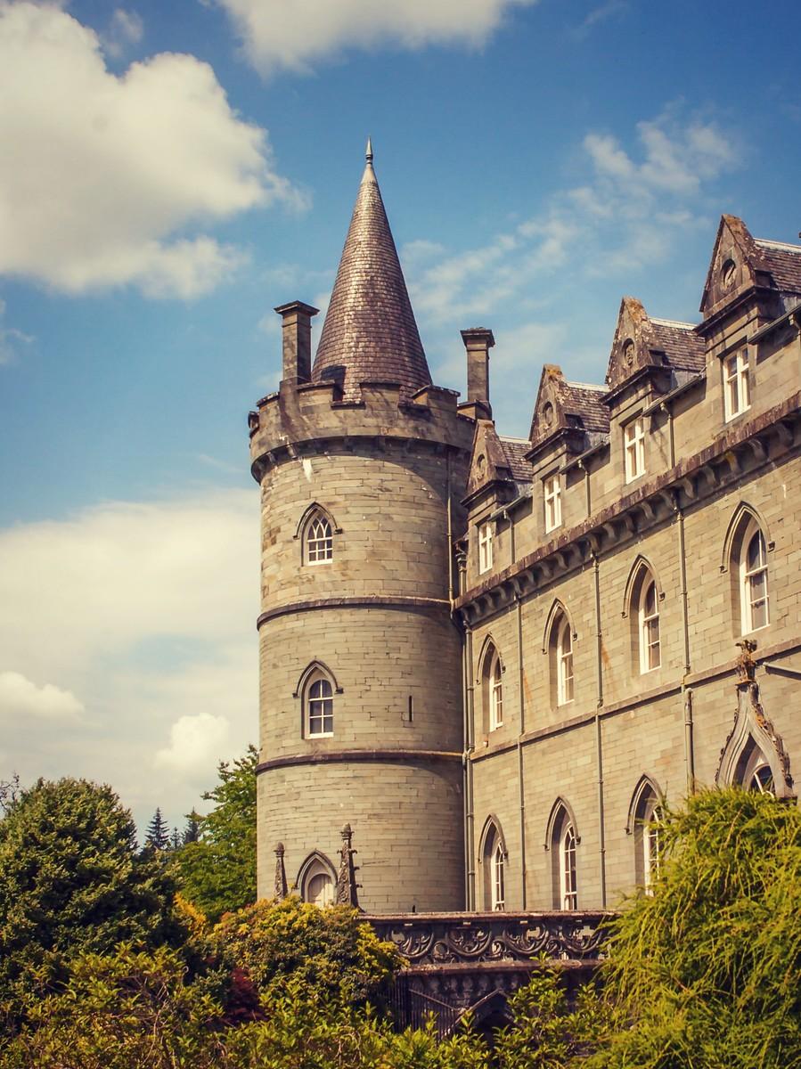 苏格兰Inveraray城堡,令人难忘_图1-3