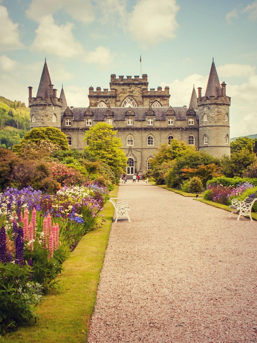 苏格兰Inveraray城堡,令人难忘_图1-2