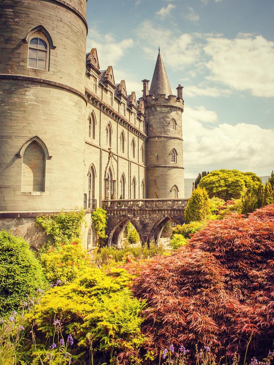 苏格兰Inveraray城堡,令人难忘_图1-1