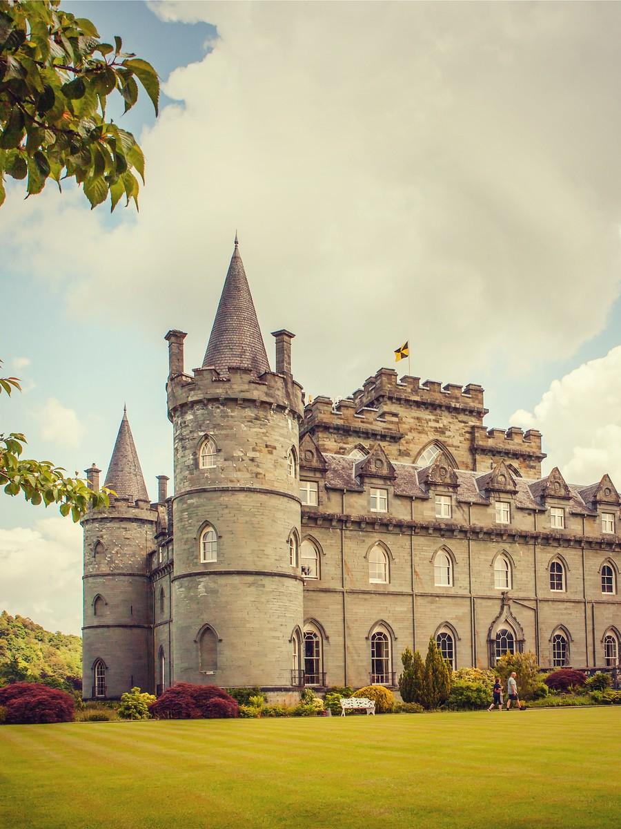 苏格兰Inveraray城堡,令人难忘_图1-21