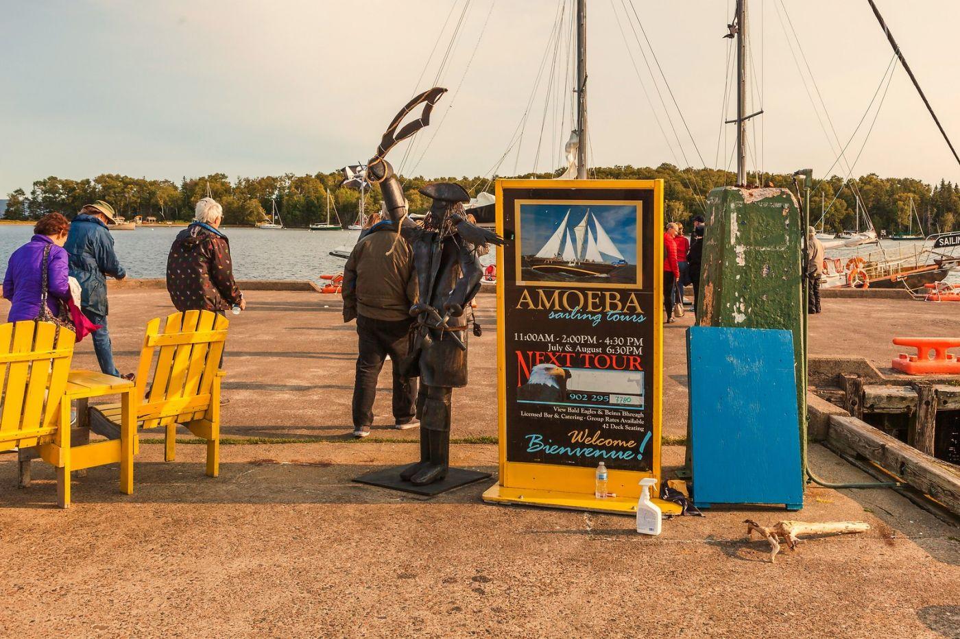 加拿大Nova Scotia, 帆船灯塔老鹰_图1-2