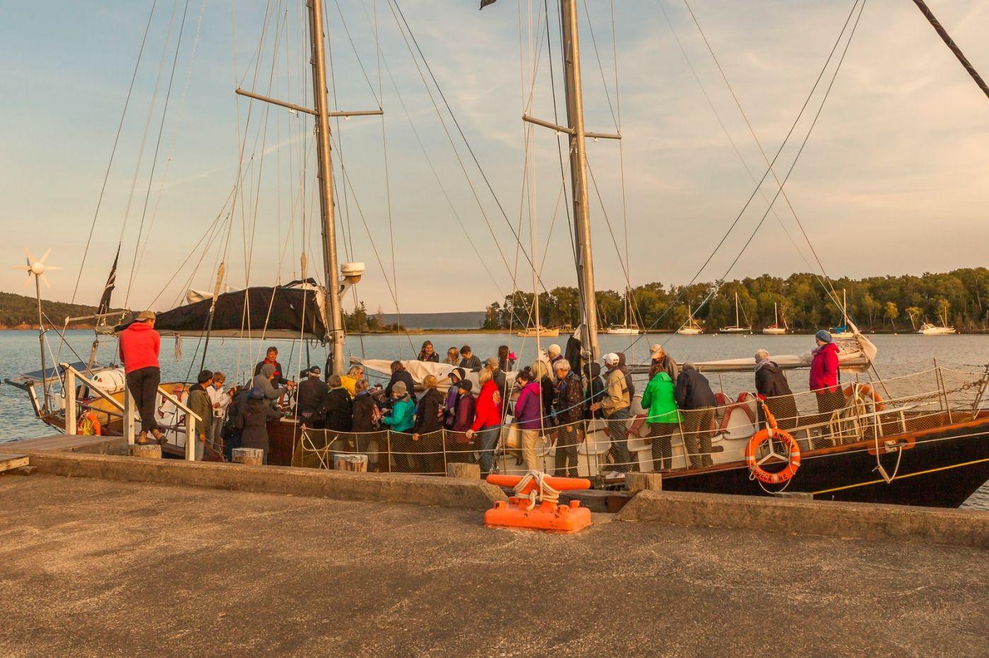 加拿大Nova Scotia, 帆船灯塔老鹰_图1-3