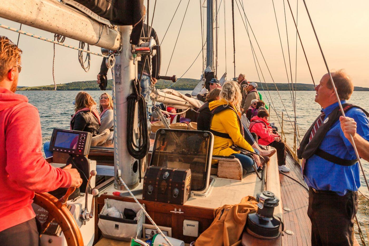 加拿大Nova Scotia, 帆船灯塔老鹰_图1-6