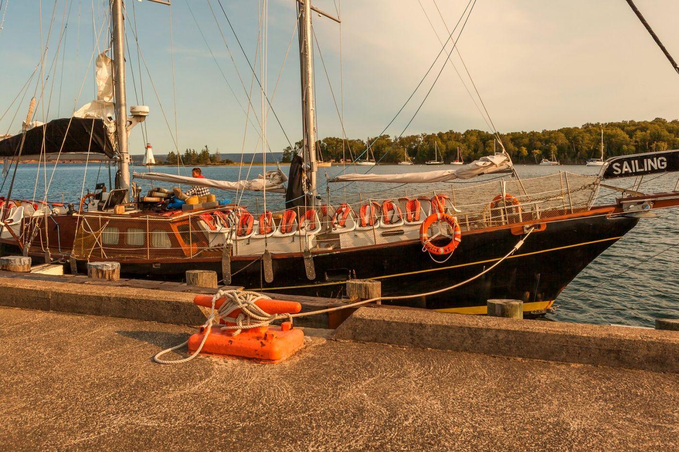 加拿大Nova Scotia, 帆船灯塔老鹰_图1-14